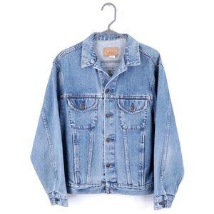 90s Gap Streetwear Mens Medium Denim Jean Jacket